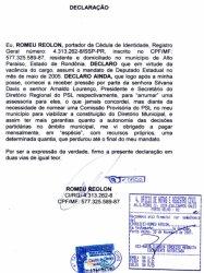 EX-DEPUTADO TEME SER ASSASSINADO, CASO COMPAREÇA A AUDIÊNCIA COMO TESTEMUNHA DO CASO EUCLIDES MACIEL