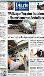 ESCÂNDALO DA EUCATUR: IMPRENSA DO AMAZONAS REPERCUTE AÇÃO DA FEDERAL