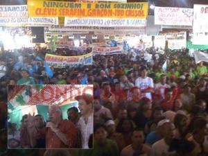 EM CONVENÇÃO RECORDE DE PARTICIPAÇÃO POPULAR, GARÇON É LANÇADO CANDIDATO A PREFEITO E PASTOR COMO VICE