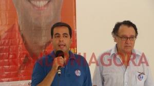 David Chiquilito inaugura comitê e apresenta plano de governo