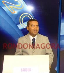 DEBATE NA TV RONDÔNIA: ALEXANDRE BRITO ATACA GARÇON E O ACUSA DE NEPOTISMO E MENTIR