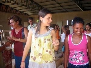 Mariana Carvalho luta por escola na ocupação Fortaleza
