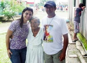 Mariana Carvalho visita comunidades ribeirinhas em Porto Velho
