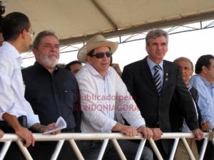 LULA EM RONDÔNIA: CASSOL FICA MAIS À VONTADE DO QUE PETISTAS DURANTE VISITA DO PRESIDENTE