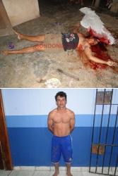 Homem mata mulher a machadadas; imagem forte
