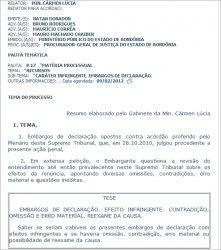 STF CONFIRMA JULGAMENTO DE NATAN DONADON PARA QUINTA-FEIRA