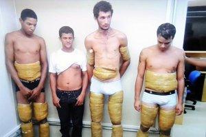 Traficantes de Rondônia são presos com 34 quilos de coca grudados ao corpo em Minas