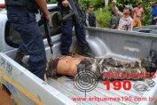 POLICIAL CIVIL BALEADO POR BANDO PASSA BEM; GOE MATOU CRIMINOSOS
