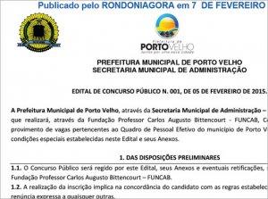 PREFEITURA DA CAPITAL ABRE CONCURSO COM 325 VAGAS E SALÁRIOS DE ATÉ R$ 7 MIL; Confira edital