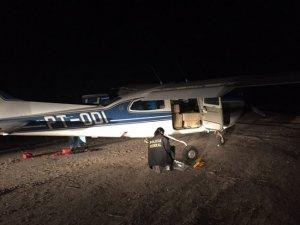 Atualizada: avião apreendido pela PF com 360 kg de cocaína no Ceará é de empresa de Rondônia