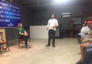 Pré-candidato a prefeito do PP em Jaru, Raposo destaca trabalho de Jaqueline Cassol