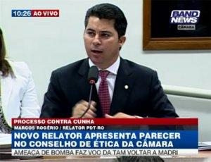 RELATOR CONFIRMA VOTO PELA ADMISSIBILIDADE DE PROCESSO CONTRA CUNHA