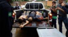 Vídeo: PM e Civil matam quatro criminosos em confronto após roubo