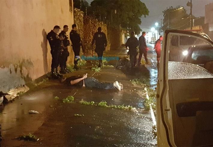 Bando de Santa Catarina é flagrado pela PM tentando assaltar agência do Banco do Brasil em Porto Velho