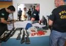 Operação da Polícia Civil prende ex-comandante da PM de Urupá, armas e munição
