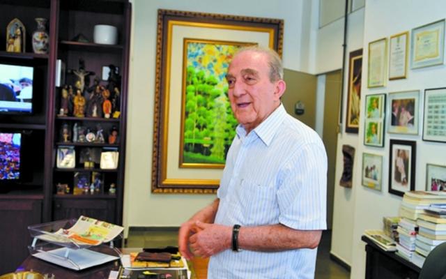 Presidente da Rede Amazônica, Phelippe Daou, morre aos 87 anos
