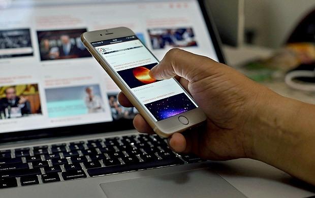 Mais de 96% dos domicílios da Região Norte usam o celular para acessar a internet