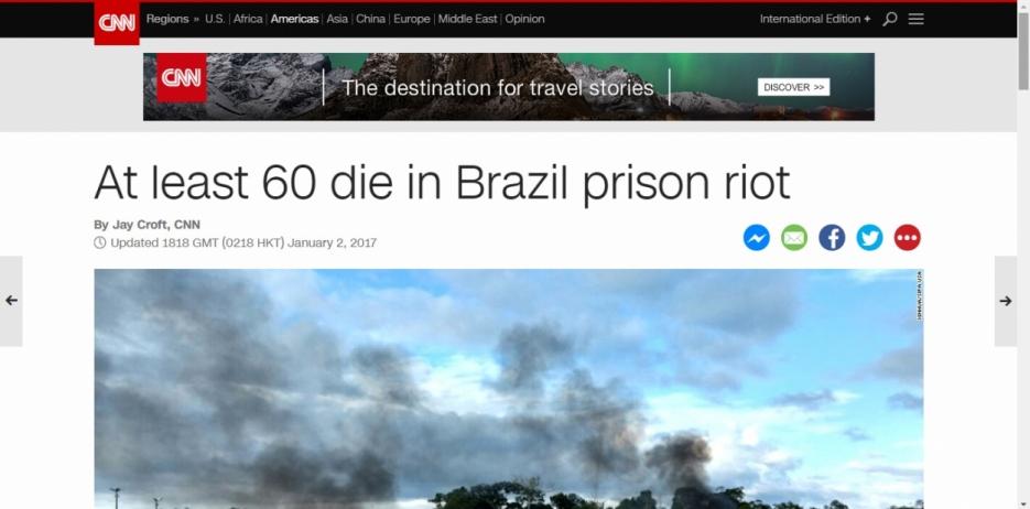 Mortos durante a rebelião em Manaus eram ligados ao PCC e estupradores