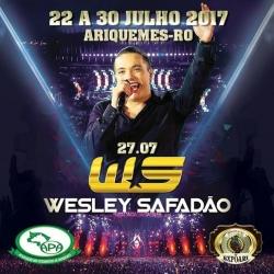 Wesley Safadão e mais três shows são confirmados na Expoari