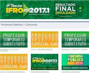 Últimos dias para se inscrever no concurso do Ifro; confira outros com editais abertos
