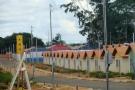 Obras de condomínios residenciais populares estão em fase de acabamento em Ji-Paraná