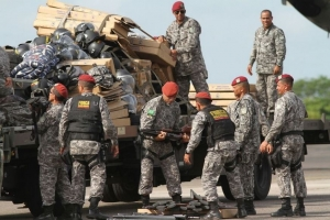 Força Nacional chega a Manaus para ajudar no controle da crise no sistema penitenciário