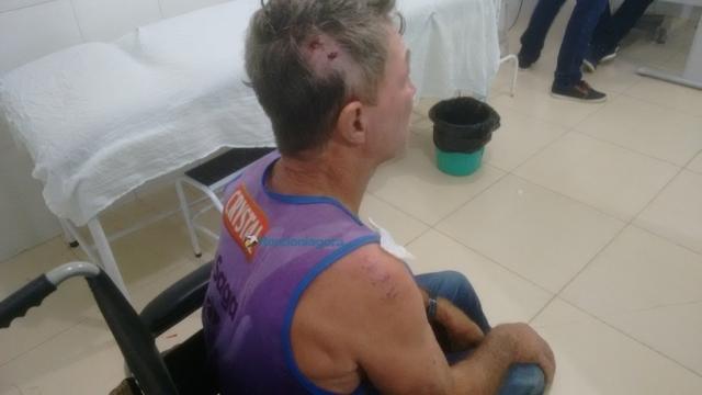 Agricultor é agredido a pauladas por desconhecidos em Ouro Preto do Oeste
