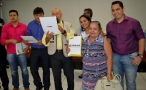Cleiton Roque destaca apoio do Governo de Rondônia na entrega de títulos de Pimenta