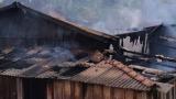 Incêndio destrói casa de madeira no interior de Rondônia