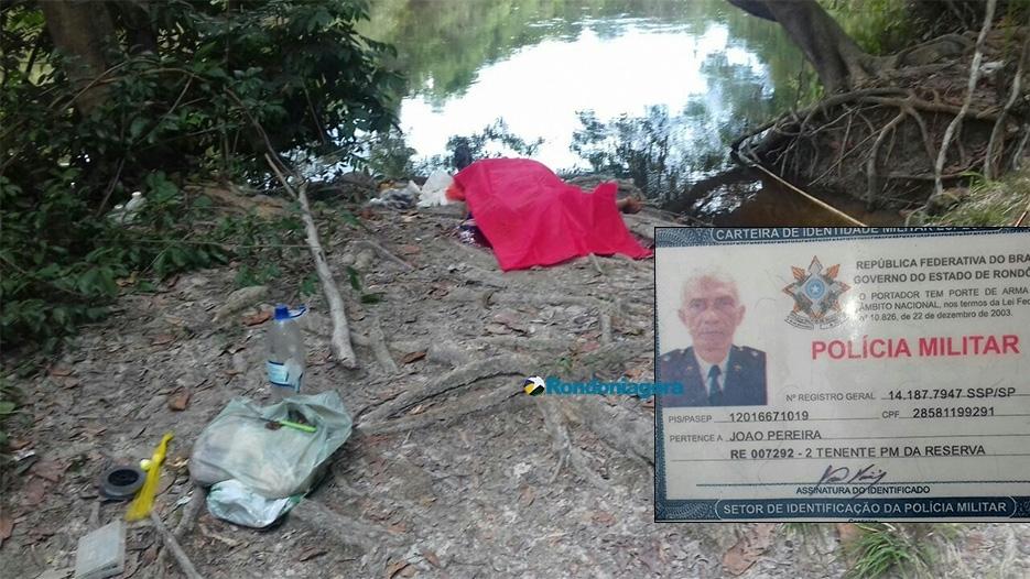 Oficial da reserva da PM é assassinado enquanto pescava no Rio Preto