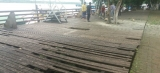 Deck da Estrada de Ferro é interditado pela Defesa Civil