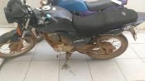 Foragido é preso com motocicleta furtada na Zona Lesta da capital