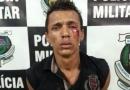 Foragido da Justiça é linchado e preso após furtar motocicleta no centro de Porto Velho