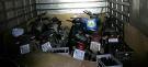 PRF apreende caminhão com cinco motos roubadas que seriam levadas para a Bolívia; confira lista