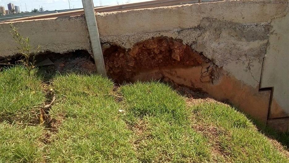 Após aparecimento de rachaduras, pista do viaduto será reconstruída no Trevo do Roque, informa DNIT