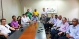 Emendas de Raupp e Marinha garantem obras no Hospital Municipal e prefeito agradece empenho