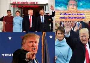 O mau humor da primeira dama e o muro de Trump interessam?