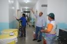 Prefeitura realiza reparos no Hospital Claudionor Roriz