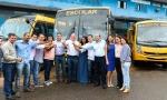 Transporte escolar de Ji-Paraná recebe três novos ônibus