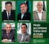 Cinco candidatos concorrem à lista tríplice para Defensor Público-Geral do Estado
