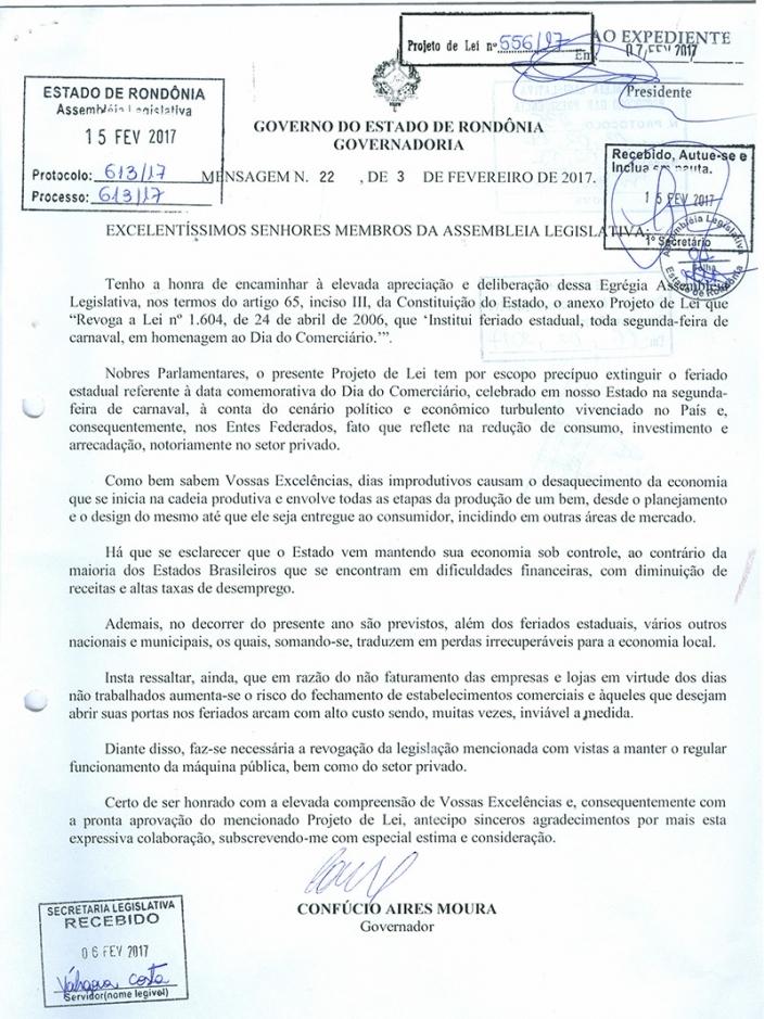 Assembleia aprova projeto do Governo que acaba com feriado da segunda-feira de Carnaval
