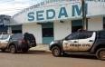 Polícia civil cumpre mandado de busca e apreensão na Sedam em Vilhena