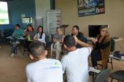 Primeira-dama conhece comunidade de recuperação de dependentes químicos