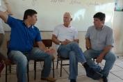 Airton Gurgacz visita escola e atende comunidade de Presidente Médici