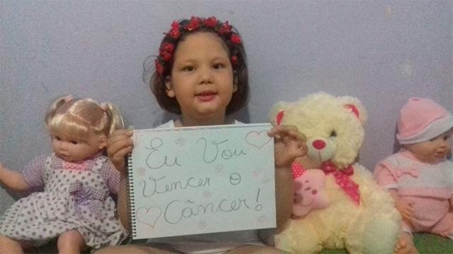 Menina com tumor no cérebro precisa de doações de sangue
