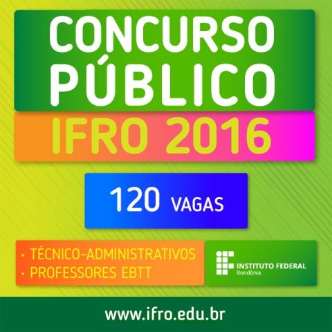 IFRO convoca professores aprovados em concurso