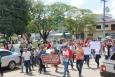 Em Ouro Preto, protesto contra a reforma da Previdência mobiliza servidores e entidades rurais