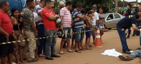 Mulher mata homem a tiros em Porto Velho