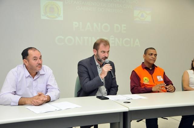Defesa Civil apresenta plano de contingência para cheias