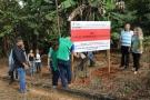 Prefeitura faz demarcação em área de preservação permanente em Ji-Paraná